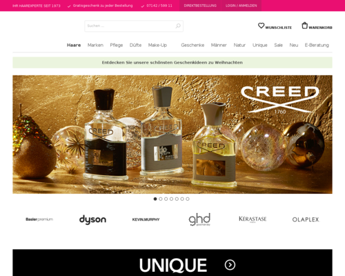 Online-Shop vonbasler beauty