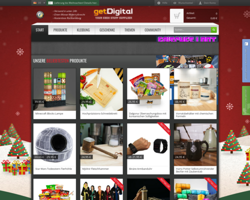 Online-Shop vongetDigital
