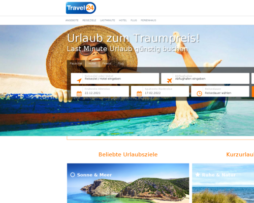 Online-Shop vonTravel24