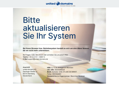 Online-Shop vonunited-domains